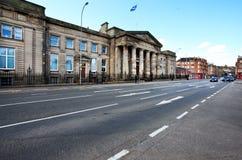Paisaje urbano de Glasgow, Escocia Imagen de archivo libre de regalías