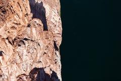 Visión desde el puente en el río Colorado imagen de archivo