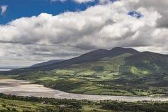 Visión desde el soporte Brandon, Irlanda Fotos de archivo libres de regalías