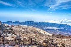Visión desde el Teide Imagen de archivo