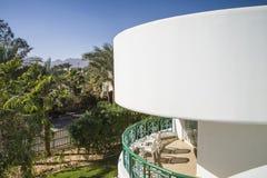 Visión desde el tejado del hotel Imagen de archivo libre de regalías