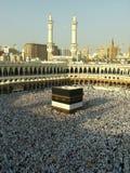Visión desde el tercera suelo de la mezquita de Haram imágenes de archivo libres de regalías