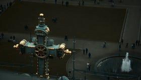 Visión desde el top de la catedral de Berlín imagenes de archivo