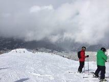 Visión desde el top de la montaña fotos de archivo libres de regalías