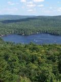 Visión desde el top de la montaña Fotografía de archivo