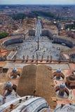 Visión desde el top de San Pedro Imagen de archivo libre de regalías