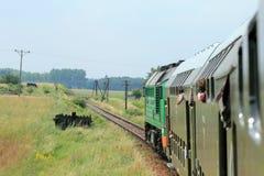 Visión desde el tren Fotos de archivo