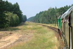 Visión desde el tren Imagenes de archivo