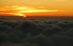 Visión desde el volcán de Pacaya Fotografía de archivo