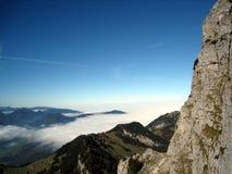 Visión desde el wendelstein 1 de la montaña Imagenes de archivo