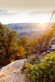 Visión desde Grand Canyon Foto de archivo libre de regalías