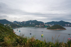 Visión desde Hong Kong Ocean Park Imagen de archivo