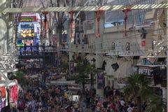 Visión desde la alta abajo calle ascendente de Fremont Foto de archivo libre de regalías