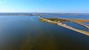 Visión desde la bahía foto de archivo