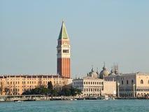 Visión desde la bahía a la Venecia Fotos de archivo libres de regalías