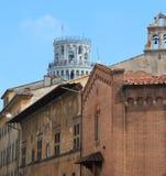 Visión desde la ciudad de Pisa fotos de archivo libres de regalías