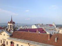 Visión desde la ciudad vieja Imagen de archivo libre de regalías