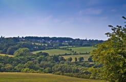 Visión desde la colina. Foto de archivo libre de regalías