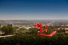 Visión desde la colina Foto de archivo libre de regalías