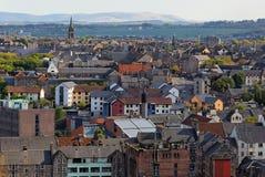 Visión desde la colina de Calton. Edimburgo. Escocia. Reino Unido. Fotografía de archivo