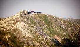 Visión desde la colina Dumbier, Eslovaquia Fotos de archivo libres de regalías