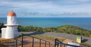 Visión desde la colina herbosa en Cooktown Fotografía de archivo