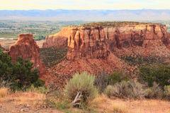 Monumento nacional de Colorado   Fotos de archivo