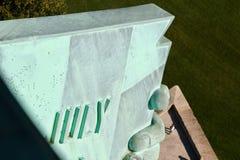 Visión desde la estatua de la libertad Imagen de archivo