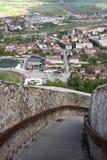 Visión desde la fortaleza Foto de archivo libre de regalías