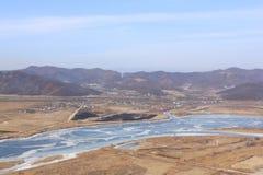 Visión desde la montaña Fotos de archivo