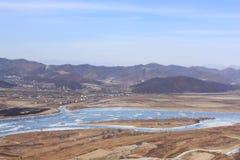 Visión desde la montaña Fotos de archivo libres de regalías