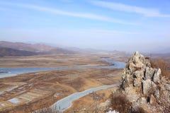 Visión desde la montaña Foto de archivo