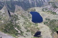 Visión desde la montaña Imagen de archivo