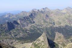Visión desde la montaña Imagenes de archivo
