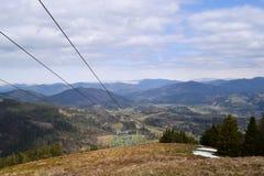 Visión desde la montaña Fotografía de archivo