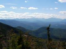Visión desde la montaña de Whiteface, montañas de Adirondack Foto de archivo libre de regalías