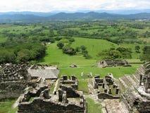 Visión desde la pirámide de Tonina Fotografía de archivo libre de regalías