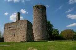 Visión desde la ruina alemana Kugelsburg imagen de archivo libre de regalías