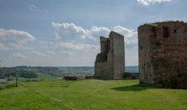 Visión desde la ruina alemana Kugelsburg Foto de archivo