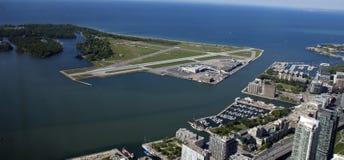 Visión desde la torre del NC, Toronto fotos de archivo