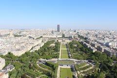 Visión desde la torre Eiffel Fotografía de archivo libre de regalías