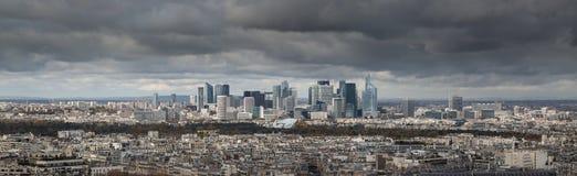 Visión desde la torre Eiffel, París Francia Fotografía de archivo