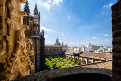 Visión desde la torre Giralda Imagen de archivo libre de regalías