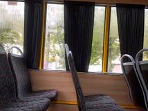 Visión desde la ventana del autobús Imágenes de archivo libres de regalías