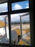 Visión desde la ventana del pescador Foto de archivo libre de regalías
