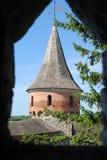 Visión desde la ventana en torre Fotografía de archivo libre de regalías