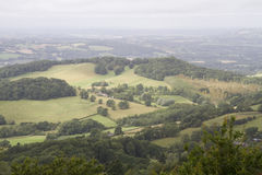 Visión desde las colinas de Malvern Imagen de archivo libre de regalías