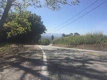 Visión desde las colinas de Sierra superior Rd, San Jose fotografía de archivo