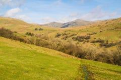 Visión desde las montañas Foto de archivo libre de regalías