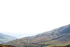 Visión desde las montañas Foto de archivo